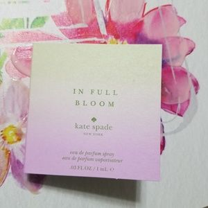 Kate Spade In Full Bloom Fragrance Sample